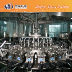 Pet and Glass Bottle Hot Pulp Juice Filling Machine