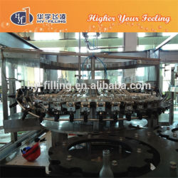 Glass Bottle Soda Water Washing Filling Capping Equipment Hy-Filling