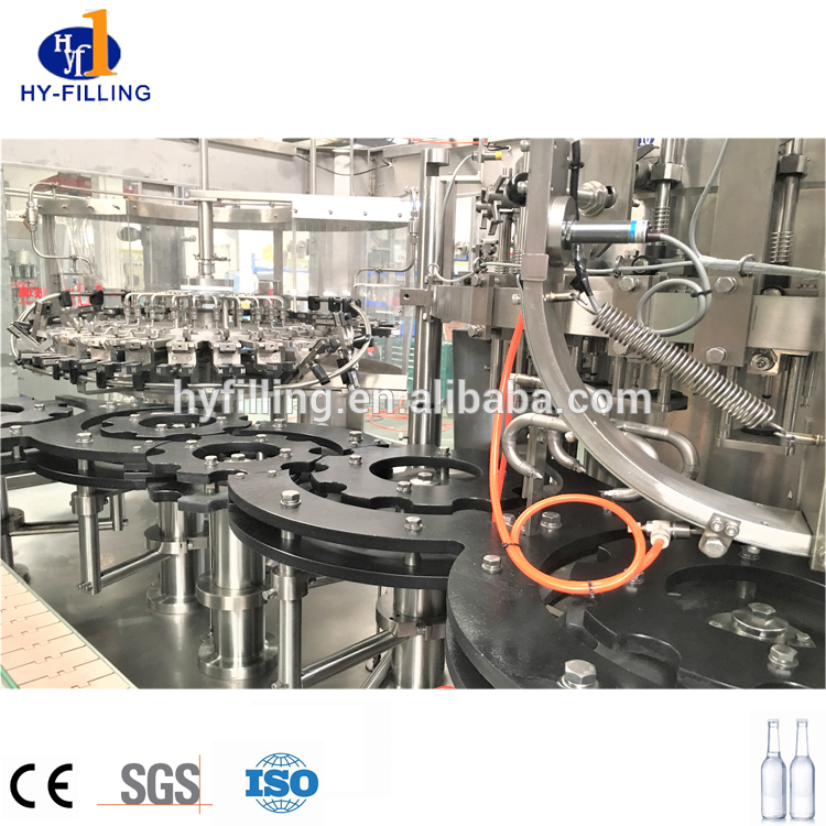 High Speed Carbonated Drink Csd Filling Machine for Glass Bottle