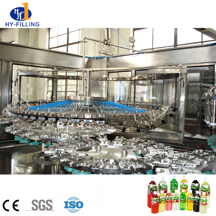 High Quality Juce Filling Machine Beverage Production Line in Zhangjiagang
