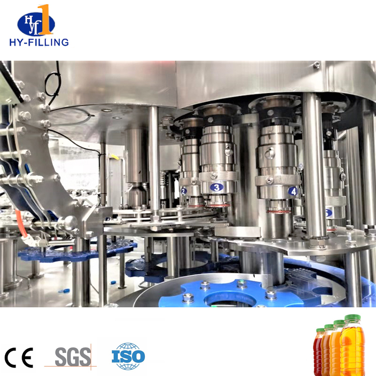 New linear line high speed water filling machine for juice soft drink mineral water
