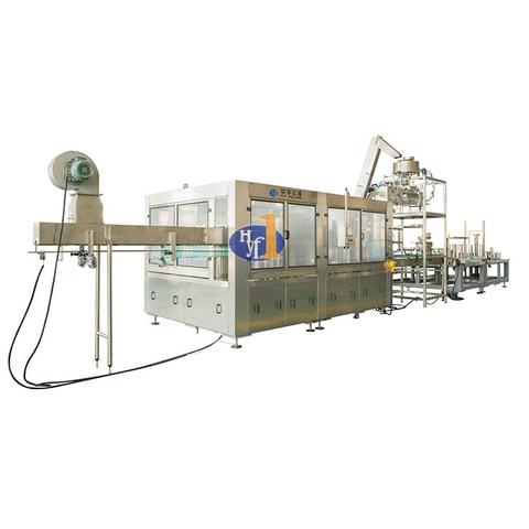 High Speed CSD Bottled Production Line Carbonated Beverage Bottling Plant carbonated water making machine